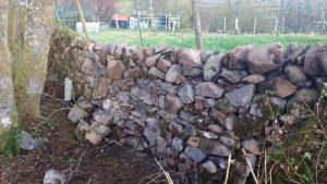 stone dyke hen run repaired