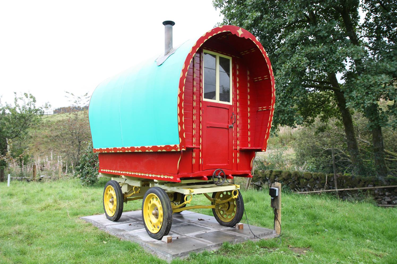 gypsy caravan restored