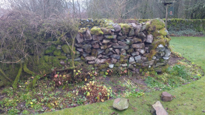 Stone Dyke Repair Dec 2018 - a commission
