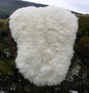felted fleece rug - Cheviot x Texel