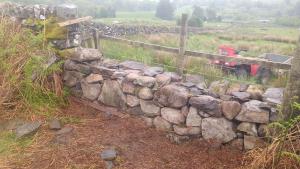 Stone dyke - filling a gap day 6