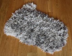 felted fleece rug - Coloured Ryeland - Yssi